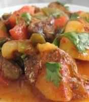 Turlu (vegetable stew with lamb)
