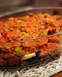 Patlican Musaka (aubergine musakka)